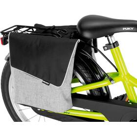 Puky DT 3 Pannier for Children's Bikes, szary/czarny